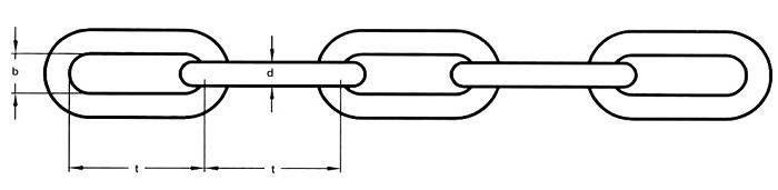 Bản vẽ dây xích inox