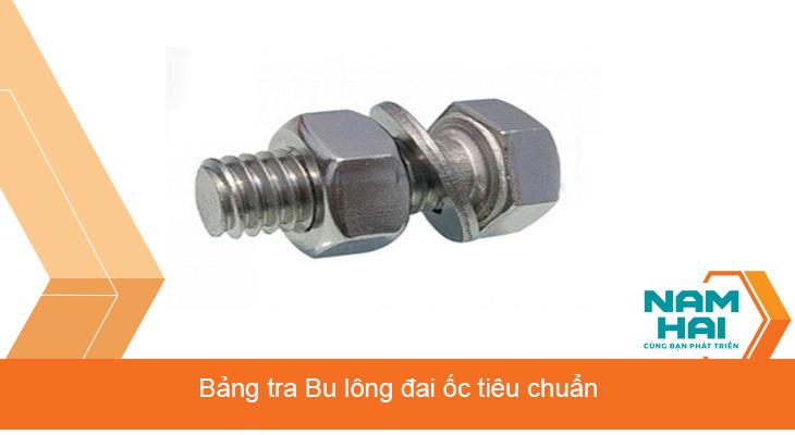 Tiêu chuẩn Bulong đai ốc