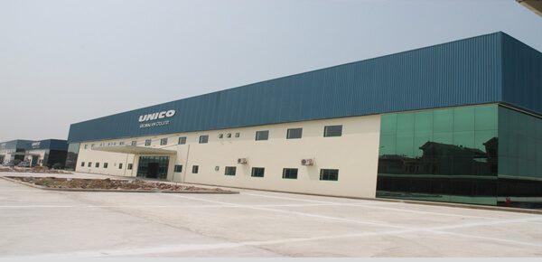 Dự án nhà máy công ty TNHH UNICO GLOBAL - Bắc Giang