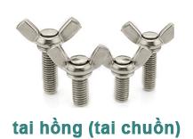 Bulong inox tai hồng (tai chuồn)