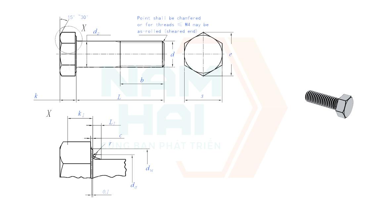 GB-T 5782 - 2016-detail