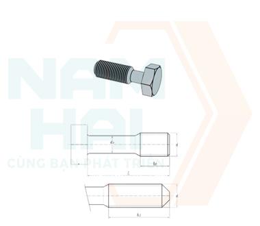 DIN 7964 - 1990 - Bu lông lục giác