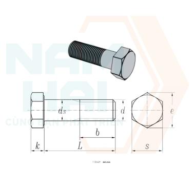 NF E 25-112 - 2001 - Bu lông lục giác