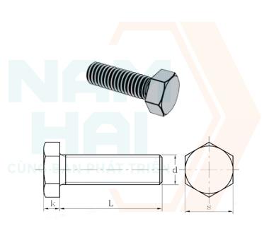 NF E 25-115-2 - 2001 - Bu lông lục giác