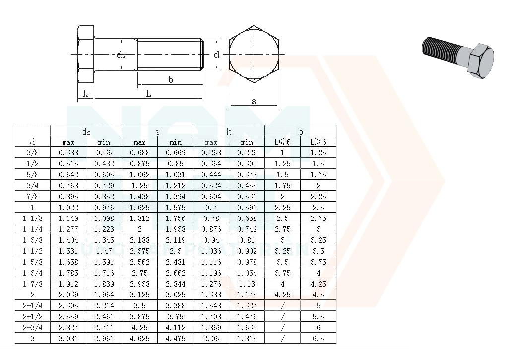 ANSI/ASME B 18.2.1 - 2010 - Bu lông kết cấu