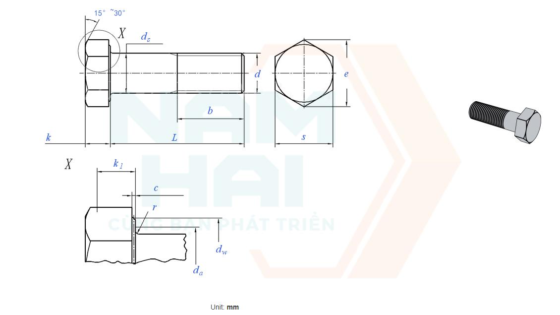 GB /T 32076.4 - 2015 - Bu lông kết cấu