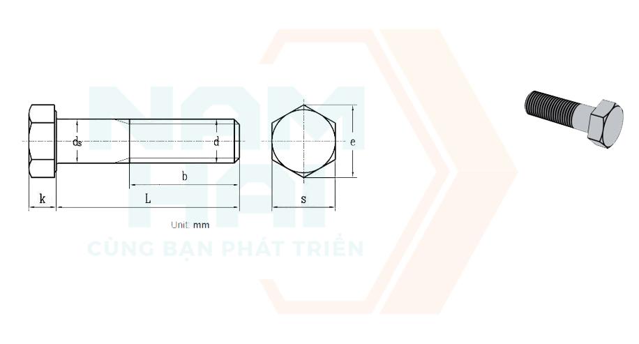 GB /T 9125 - 2010 - Bu lông kết cấu