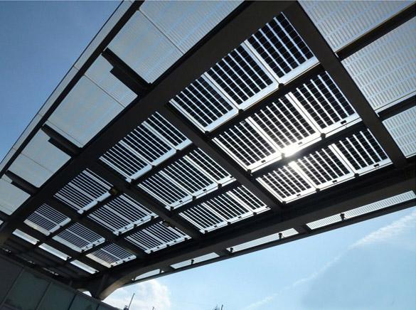 khung giá đỡ pin mặt trời